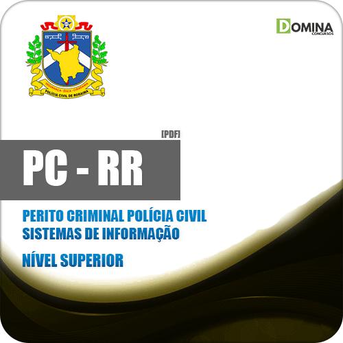 Apostila PC RR 2018 Perito Criminal Polícia Civil Sistemas Info