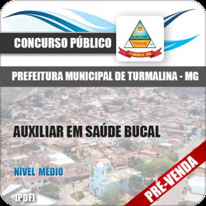 Apostila Pref Turmalina MG 2018 Auxiliar em Saúde Bucal