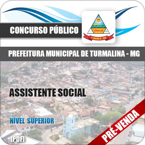 Apostila Pref Turmalina MG 2018 Assistente Social