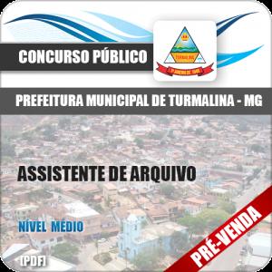 Apostila Pref Turmalina MG 2018 Assistente de Arquivo