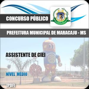 Apostila Pref Maracaju MS 2018 Assistente de CIEI