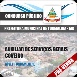 Apostila Pref Turmalina MG 2018 Aux Serviços Gerais Coveiro