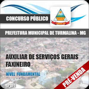 Apostila Pref Turmalina MG 2018 Aux Serviços Gerais Faxineiro