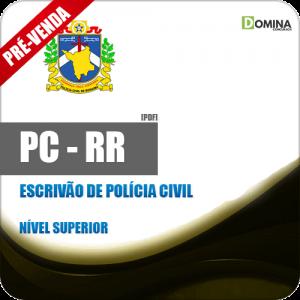 Apostila PC RR 2018 Escrivão de Polícia Civil
