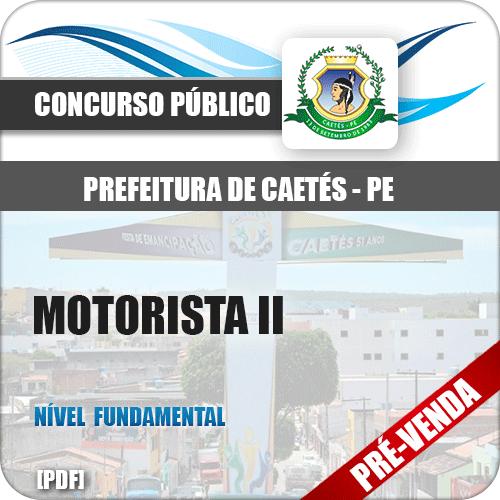 Apostila Pref Caetés PE 2018 Motorista II