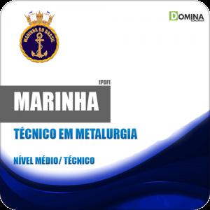Marinha CP CAP 2018 Técnico em Metalurgia