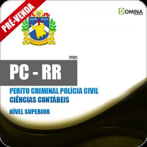 Apostila PC RR 2018 Perito Criminal Polícia Civil Ciências Contábeis