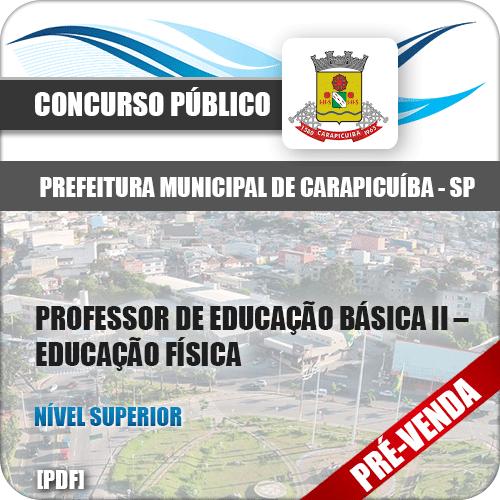 Apostila Pref Carapicuíba SP 2018 Prof Ed Básica II Ed Física