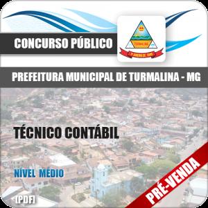 Apostila Pref Turmalina MG 2018 Técnico Contábil