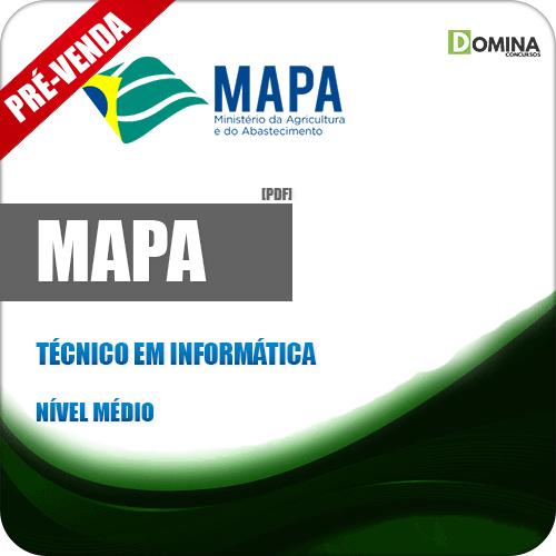 Apostila MAPA 2018 Estágio Técnico em Informática