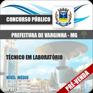 Apostila Pref Varginha MG 2018 Técnico em Laboratório