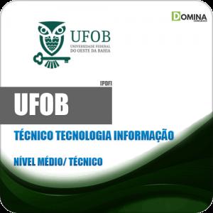 Apostila UFOB 2018 Técnico de Tecnologia da Informação