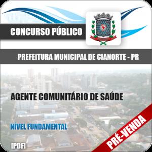 Apostila Pref Cianorte PR 2018 Agente Comunitário de Saúde