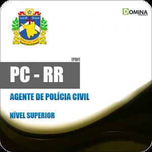 Apostila PC RR 2018 Agente de Polícia Civil