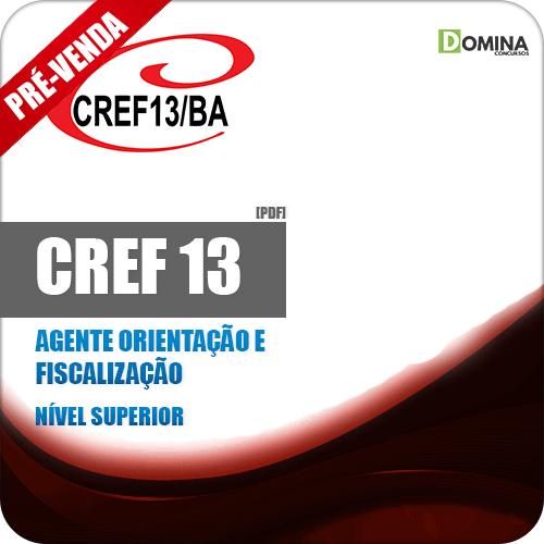 Apostila CREF 13 BA 2018 Agente Orientação e Fiscalização