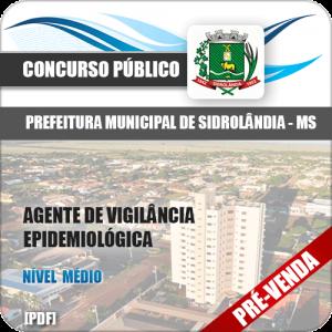 Apostila Pref Sidrolândia MS 2018 Agente Vig Epidemiológica