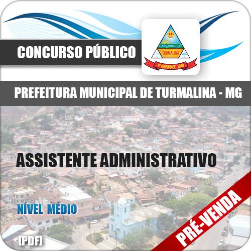 Apostila Pref Turmalina MG 2018 Assistente Administrativo
