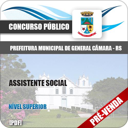 Apostila Pref General Câmara RS 2018 Assistente Social
