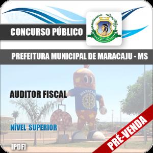 Apostila Pref Maracaju MS 2018 Auditor Fiscal