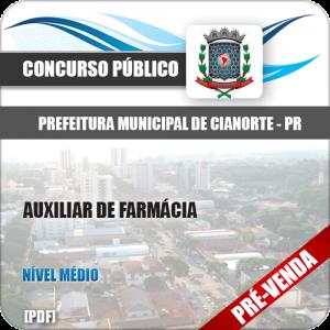 Apostila Pref de Cianorte PR 2018 Auxiliar de Farmácia