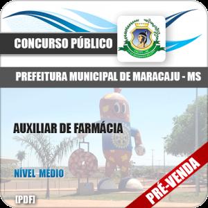 Apostila Pref Maracaju MS 2018 Auxiliar de Farmácia