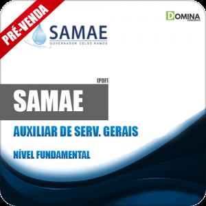 Apostila SAMAE GCR 2018 Auxiliar de Serviços Gerais