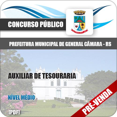 Apostila Pref General Câmara RS 2018 Auxiliar de Tesouraria