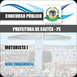 Apostila Pref Caetés PE 2018 Motorista I