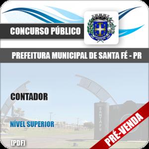 Apostila Pref Santa Fé PR 2018 Contador