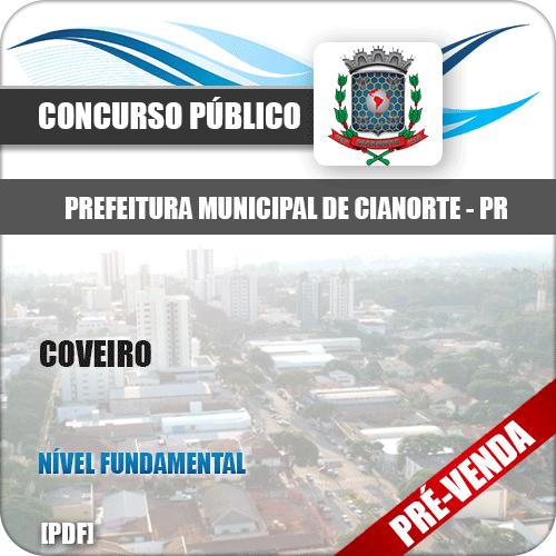 Apostila Prefeitura Municipal de Cianorte PR 2018 Coveiro
