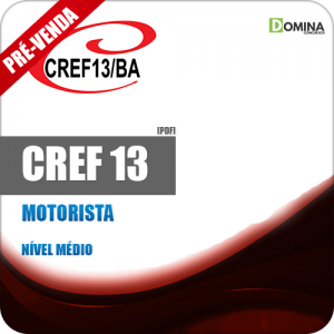 Apostila CREF 13 BA 2018 Motorista