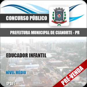 Apostila Pref de Cianorte PR 2018 Educador Infantil
