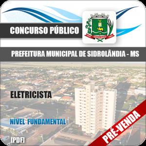 Apostila Pref Sidrolândia MS 2018 Eletricista