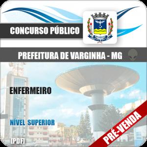Apostila Prefeitura Municipal de Varginha MG 2018 Enfermeiro