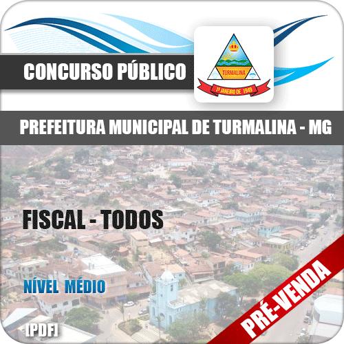 Apostila Pref Turmalina MG 2018 Fiscal