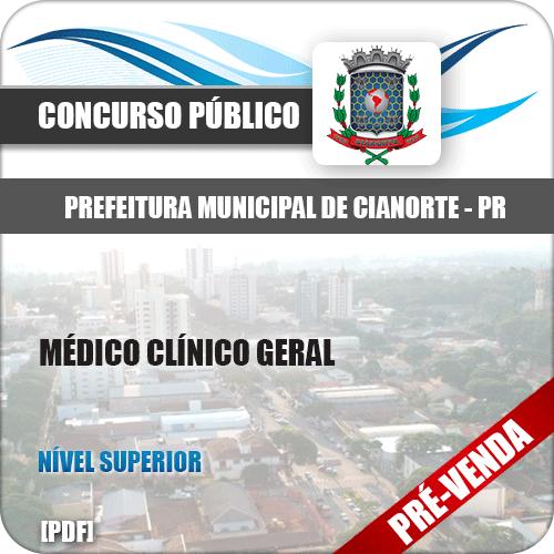 Apostila Pref de Cianorte PR 2018 Médico Clínico Geral