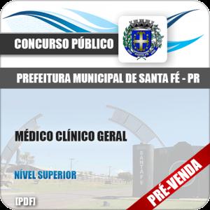 Apostila Pref Santa Fé PR 2018 Médico Clínico Geral