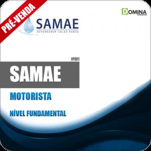 Apostila SAMAE Governador Celso Ramos 2018 Motorista
