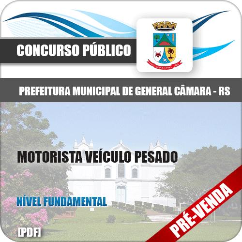 Apostila Pref General Câmara RS 2018 Motorista Veículo Pesado