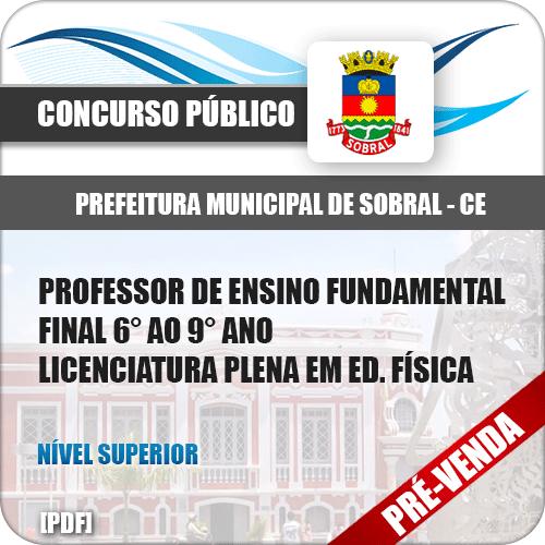 Apostila Pref Sobral CE 2018 Prof Ens Fundamental Ed Física