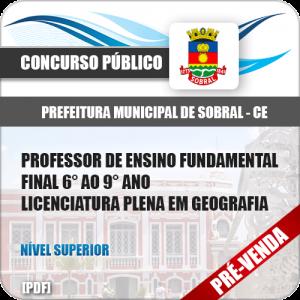 Apostila Pref Sobral CE 2018 Prof Ens Fundamental Geografia