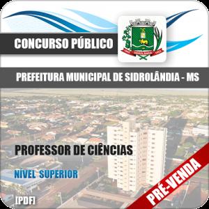 Apostila Pref Sidrolândia MS 2018 Professor de Ciências