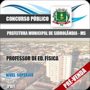 Apostila Pref Sidrolândia MS 2018 Professor de Ed. Física