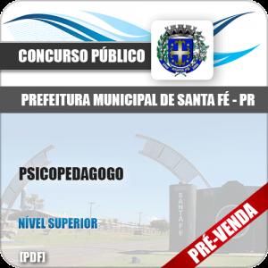 Apostila Pref Santa Fé PR 2018 Psicopedagogo