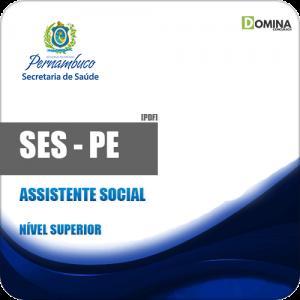 Apostila SES PE 2018 Assistente Social