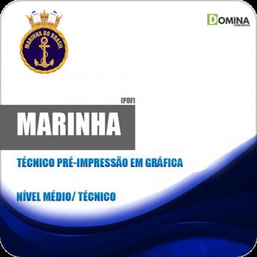 Apostila Marinha CP CAP 2018 Técnico em Gráfica