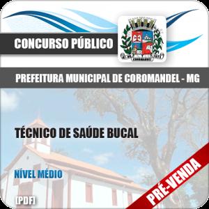 Apostila Pref Coromandel MG 2018 Técnico Saúde Bucal