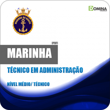 Apostila Marinha CP CAP 2018 Técnico em Administração