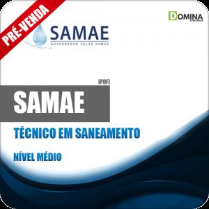 Apostila SAMAE GCR 2018 Técnico em Saneamento