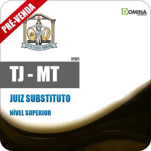 Apostila Tribunal de Justiça MT TJ MT 2018 Juiz Substituto